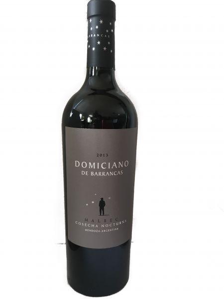 Domiciano de Barrancas Malbec 2013 - Nachtlese